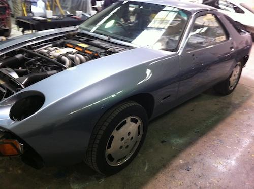 Porsche - Front