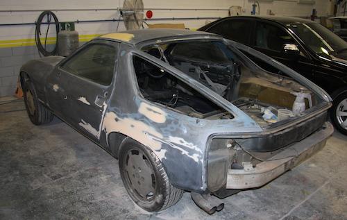Porsche - Rear