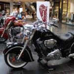 Indian Motorcycle Pop Up Store at Highpoint Shopping Centre