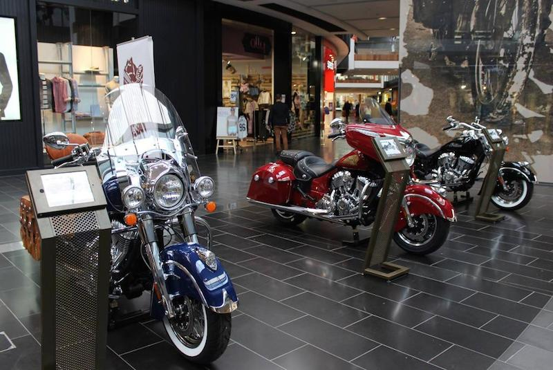Indian Motorcycle Pop Up Shop