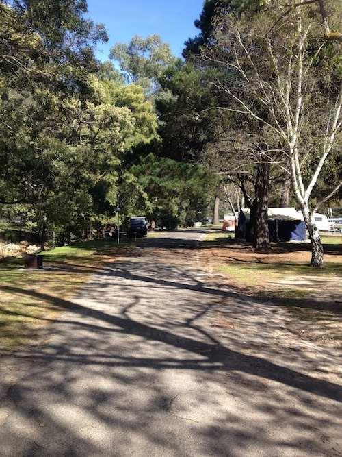 Halls Gap Caravan Park Site
